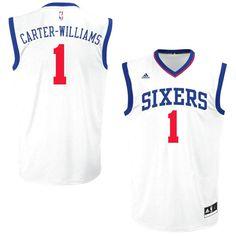 Michael Carter-Williams Philadelphia 76ers adidas Replica Jersey - White - $28.49
