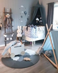 New Baby Room Decoration Ideas - Babyzimmer Junge Toddler Rooms, Baby Boy Rooms, Baby Bedroom, Baby Room Decor, Baby Boy Nurseries, Nursery Room, Kids Bedroom, Nursery Decor, Casa Kids