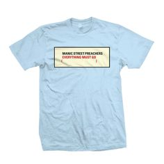 Manic Street Preachers: Everything Must Go T-Shirt
