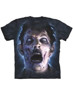 822f945f NEW NWT Moonlit Zombie T-Shirt Living Dead Apocalypse In Your Face 2X  #fashion