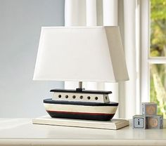 Sailboat Complete Lamp #pbkids