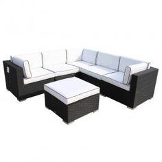Rattan suite for garden