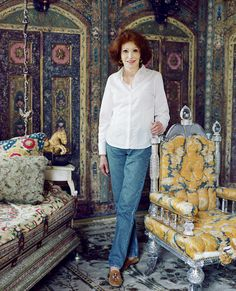 Ann Getty: Interior Style – Directorio Deco by Gloria Gonzalez Estilo Interior, Interior Styling, Interior Design, Luxury Interior, San Francisco Houses, Degas, New Books, Collection, 18th Century