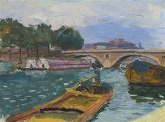 Albert Marquet - Pont sur la Seine à Paris Raoul Dufy, Henri Matisse, Paris Bridge, Rio Sena, The Joy Of Painting, Painting Art, France Art, Georges Braque, Rouen
