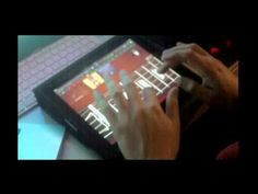 iPad Garageband - Guitar Jam Improvisation    I don't care what he's saying - he is pretty awesome at that iPad - ;-)    @safegaard