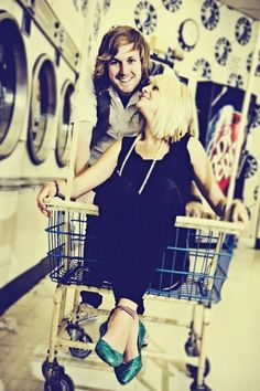 Engagements at the Laundry Mat
