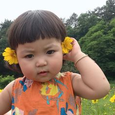 Image may contain: 1 person, outdoor and close-up - Typical Miracle Cute Little Baby Girl, Cute Baby Girl Pictures, Cute Girl Face, Little Babies, Baby Photos, Cute Asian Babies, Korean Babies, Asian Kids, Cute Babies