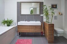 bathroom designed by Kristina Proksova My Ideal Home, My House, Building A House, Bathtub, House Design, Prague, Bathrooms, Detail, Standing Bath