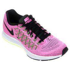 cheap for discount 658e1 3e012 Zapatillas Nike Air Zoom Pegasus 32 Gris e Violeta   Netshoes Articulos  Deportivos, Moda Fitness