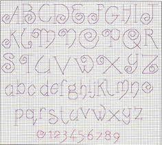 Resultado de imagen para letras punto lineal