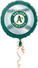 18'' Oakland Athletics Foil Balloons (Pack of 5)