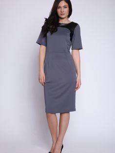 Dámske šaty STREET VOGUE - šedá