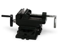 $44.9 - Nordstrand 4-inch Cross Slide Vise for Drill Press Table Bench Metal Milling Machine - http://bit.ly/2fq734x - High-quality 4″ cross slide vise Secures materials for drill press or on t-slot table Highly adjustable sliding steel jaws