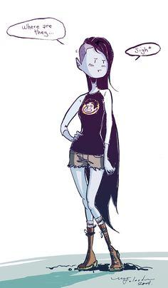 - Michel Falardeau - My favorite character from Adventure Time; Marceline !! Follow me on Tumblr: http://michelfalardeau.tumblr.com/
