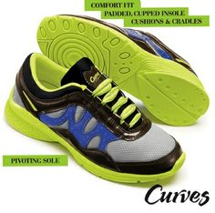 Curves for Women Get Groovin' Sneakers.  Order here: www.youravon.com/autumnlent