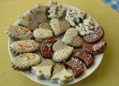 Makové vianočné pečivo Almond, Cereal, Cookies, Baking, Breakfast, Desserts, Christmas, Food, Advent