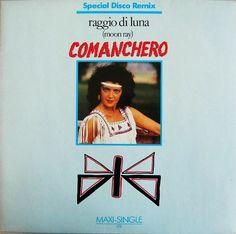 """Raggio Di Luna - Comanchero [Special Extended Remix 12''] © 1984 €URO 80's """"La Radio del Ítalo Disco © 2011 - 2016 euro80s.net"""