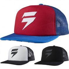 894fc422 Shift MX Checkered Mens Caps Motocross Off Raod Trucker Hat Mens Trucker Hat,  Mens Caps