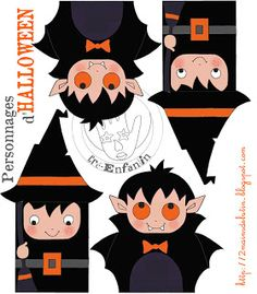 2 Hands Imp: Small Papers HALLOWEEN