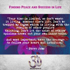 Jeremy E. McDonald: Fiinding Peace and Success in Life