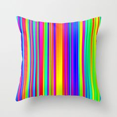 the Great Noize V Throw Pillow