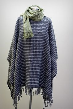#Soft #Dark #Grey #Warm #Wool #Poncho / #Women #Wool #Cloak / #Winter #Autumn #Wool #Cape by #EpicLinen