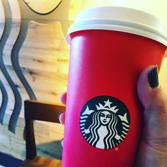 The winter red cups are back at the #CCAC #Allegheny Campus #Starbucks!