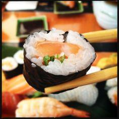 Hosomaki - sushi de salmão