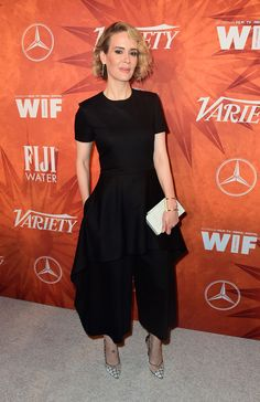 Sarah Paulson at an Emmy after party