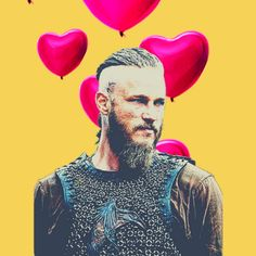 #vikings #wikingowie #ragnar #lagertha #series #serial #netflix #sweety #tumblr #love #yellow
