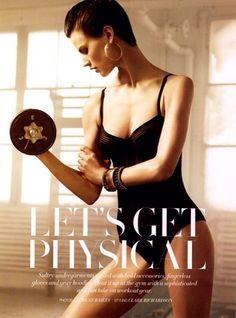 Fashionable workout