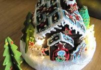 [Free Pattern] It lights up! This Crochet Gingerbread House Is So Awesome!