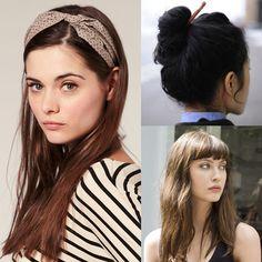 OMG!!! Lunes y se te hizo tarde. ¿Qué haces con tu cabello: chongo rápido, pelo suelto o una diadema?