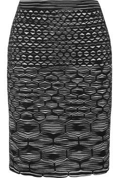 Missoni|Crochet-knit skirt|NET-A-PORTER.COM