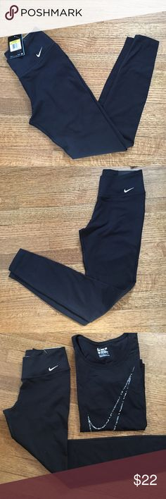 "NWT Nike Women's ""Legend Tight Fit"" Pants 💪 NWT Nike Women's ""Legend Tight Fit"" Pants 💪 Nike Pants Leggings"