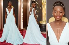 Oscars 2014: Las estrellas despliegan su 'glamour' en la alfombra roja Lupita Nyong´o