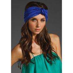 Eugenia Kim Chiara Turban Headband, found on #polyvore. #hair #accessories #women