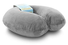 Comfortable Travel Pillow Get Wrapped in Extreme Comfort with the Comfort Master Neck Pillow a Memory Foam Pillow that Provides Relief and Support for Travel Home Neck Pain and Many More -- For more information, visit image link.