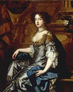 Nationaal Historisch Museum - Koningin Maria (Mary) II van Engeland (1662-1694), regeerde samen met haar man Koning-Stadthouder Willem III (1650-1702)