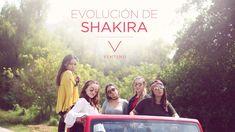 Evolución de Shakira - Ventino