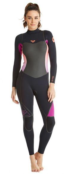 3/2mm Women's Roxy SYNCRO LFS Fullsuit | Wetsuit Wearhouse