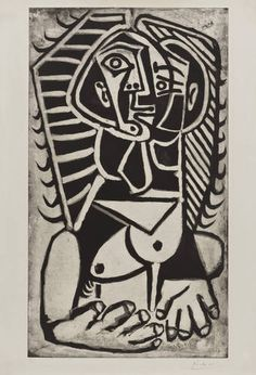 Egyptian, 1953 (Picasso)