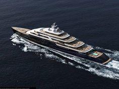 Lounge Leisurely on Nauta's 165 M Gleam Yacht