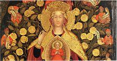 Ambito di Michele Giambono , Madonna del Carmelo (antecedente 1423)04