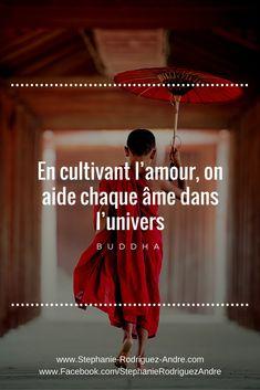 Citation #inspiration #Bouddha pour entrer dans plus d'#amour de #joie de #paix et intensifier ton #Bonheur #StéphanieRodriguezAndré #WebBusinessVivratoire - Stéphanie Rodrigue-André - Pinterest