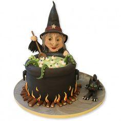 Witches Cauldron Cake. #Halloween