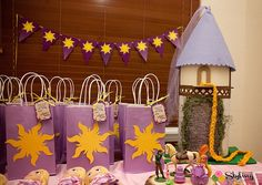 Get Tangled Up in This Rapunzel-Themed Birthday Party