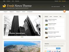 Fresh News is one of our oldest and best selling themes, but has now been completely overhauled in version 3.0 to compete with the best themes of today. In the updated version you'll find updated options to control the look, layout and fonts, and also some new features like a featured post slider.