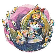 Alice in wonderland. by frankenji on DeviantArt Alice In Wonderland, Deviantart, Cats, Gatos, Cat, Kitty, Kitty Cats