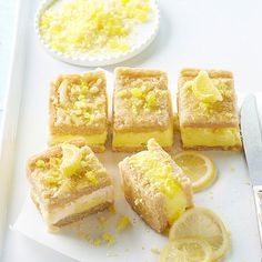 Lemon Bar Cookie Ice Cream Sandwiches